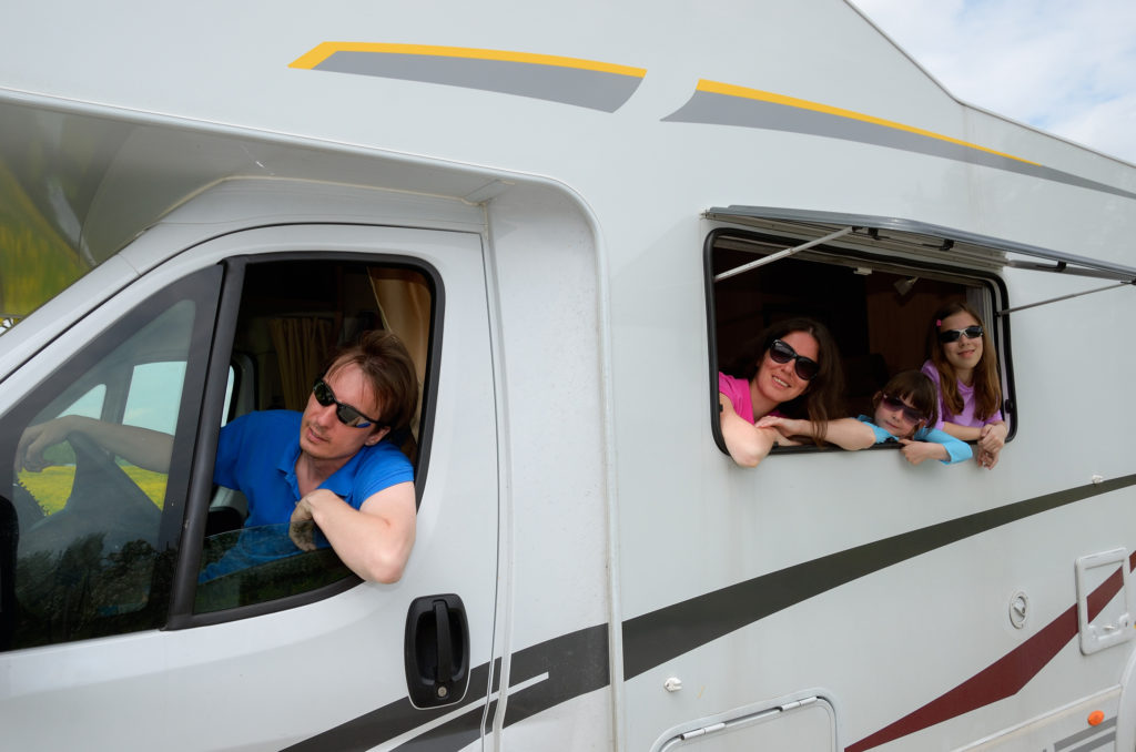 family vacation, rving with kids, rv vacation, skymed